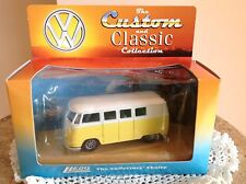 """Custom And Classic Collection"" By Lledo  Yellow And White V W Camper Van"