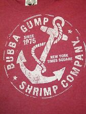 Bubba Gump Shrimp Company Run Forest Run Movie Anchor NYC Times Square T Shirt S