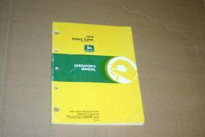 JD John Deere 1418 rotary cutter Operators Manual