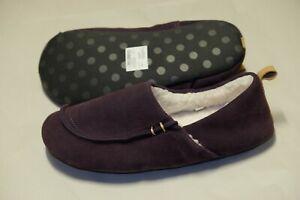 Clarks Maven Mia Aubergine warmed ladies slippers size 7/41 D