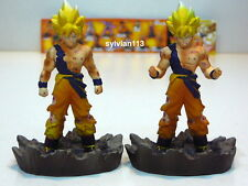 Bandai 2003 Dragonball Collection Vol.1 Super Saiyan Goku Mini Figure A & B