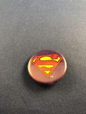 DC Comics Superman Logo Pin