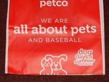 "PETCO DOG DAYS OF SUMMER AT PETCO PARK ECO BAG REUSABLE GROCERY 12"" X 12"" X 6"""