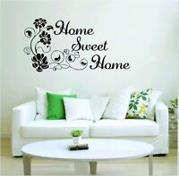 Flower Removable Art Vinyl Quote Wall Sticker Decal Mural Home Room Decor Sweet@