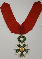 Croix de Commandeur de la Légion d'Honneur 1870-1951 en or massif
