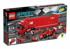 Lego 75913 Ferrari Truck and 75886 and 75879, 3 sets all brand new in sealed box