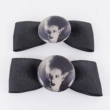 Bride of Frankenstein hair bows Shelley Kitsch Vintage Psychobilly horreur goth