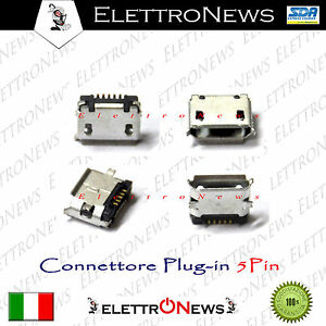 Connettore di ricarica plug-in di carica per Archos G9 Micro usb Plug-in A006