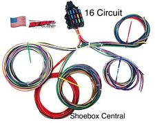 Rebel Wire 12 volt wiring harness, 16 circuit universal, made in the USA!!