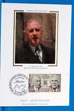 FRANCE CPA   Carte Postale Maximum CHARLES DE GAULLE  Yt 2501 C