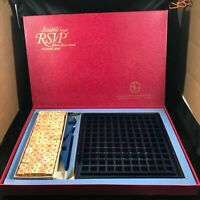 Vintage 1970 RSVP Three Dimensional Crossword Board Game Scrabble Brand