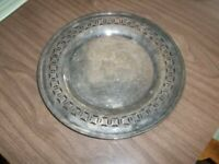 """Lovely Vintage Silverplated Plate ROYAL ROCHESTER 10"""""""