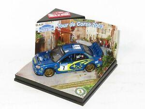 1/43 Subaru Impreza S9 WRC`03  Rally de France Tour de Corse 2003 #7 P.Solberg