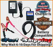 Harley Davidson 12 Volt Battery Charger Maintainer Tender Float Smart Charger BN