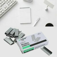 1000pcs Größe 24/6 Heftklammern für Bürohefter Papierdokument 11,5 6mm· C7M V4A3