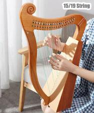 More details for irish harp kelkin lya 15-string 19-string instrument lyre