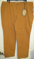 NEW NWT Vanilla Star  Plus Size 24 Jeans Denim Dark Mustard Color Skinny Fit