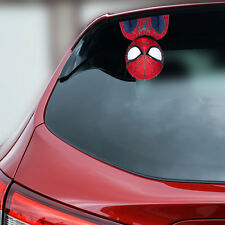Spiderman Spider-man Baby Car Decal Sticker Wall Bumper Gift Peeking On Board