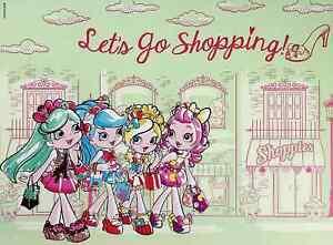 "Lets Go Shopping! - Shopkins Shoppies Mini Poster 8"" x 11"""