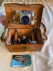 Voigtlander Prominent with Original Case and Accessories