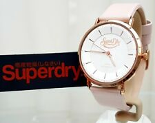 Ladies Woman SUPERDRY Watch Oxford Pastel Leather strap RRP £79 Genuine (SD1)