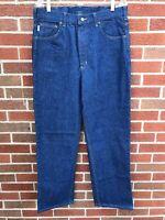 Carhartt Men's Blue Jeans Prewash Straight Leg Denim Traditional Fit 36 x 40