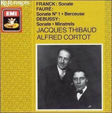 Franck: Sonate Faur Sonate No 1 Berceuse; Debussy: Sonate CORTOT Thibaud CD