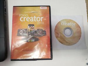 Roxio Creator 2010 Installation DVD with Keys