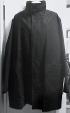 Jil Sander Men's Black Long Parka Jacket Coat Made in Italy - IT 52 US 42