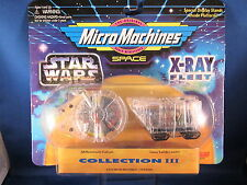 Star Wars Micro Machines X-Ray Flotte Collection III