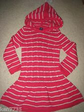 BABY GAP GIRLS DEER VALLEY HOODED SWEATER DRESS SIZE 2 2T