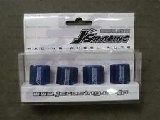 J's Racing Aluminum Lug Nuts & Lock Blue HONDA M12x1.5