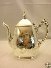 Antique silverplated MF'D Reed & Barton teapot