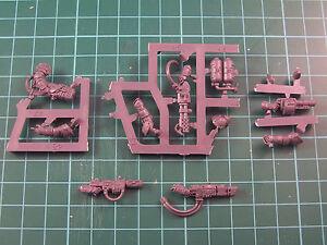 Astra Militarium Tempestus Scion Special Weapons Bits