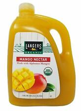 Langers Organic Mango Nectar Made with Alphonso Mango, 1 Gallon, 3.78 Liters