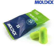 20 Pairs of Moldex Pura Fit 7700 Ear Plugs 36 dB Noise Reduction Green Earplugs