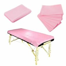 Table Cover 10pcs Massage Beauty Nonwoven Blue White Pink Disposable Bed Sheets