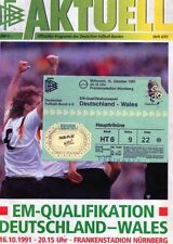 Wales Home Teams S-Z Football Programmes with Match Ticket