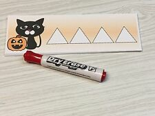 Black Cat - Shapes Tracing - Laminated Activity Set - Teaching Supplies