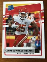 2020 DONRUSS CLYDE EDWARDS-HELAIRE RATED ROOKIE RC SP CHIEFS