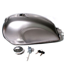 Motorcycle Gas Fuel Tank Oil Box Raw Bare Metal Cafe Racer Scrambler For CFMOTO