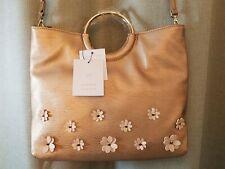 New Rose Gold Crossbody Handbag Clutch Lauren Conrad Pink Floral Clutch Gold