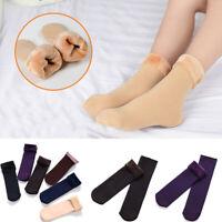Lady Winter Warm Velvet Thickening Socks Solid Casual Snow Thermal Keeping Socks