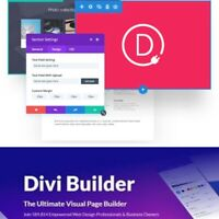 Elegant Themes The Divi Builder  Wordpress Plugin - Webseite