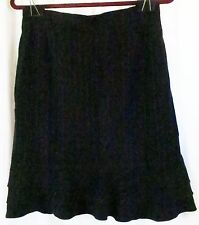 CLC Black Silver Striped 8 Skirt