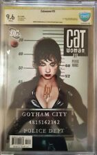 Catwoman #51 (2006) DC CGC 9.6 Golden Label Signed by Adam Hughes!