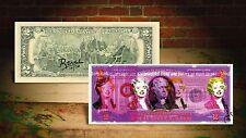 MARILYN MONROE PURPLE by RENCY Pop Art Giclee on Real $2 Bill Signed #/70 Banksy
