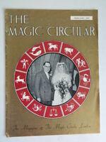 The Magic Circular Trick Club Zauberer Magazin Fabruary 1959