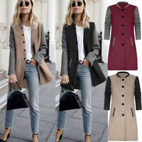 Womens Winter Warm Cardigan Sweater Ladies Long Sleeve Long Coat Jumper Knitwear