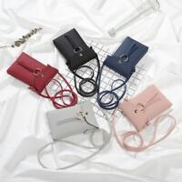 Womenallet Coin Cell Phone Case Mobile Bag Pouch Mini Shoulder Bag Handbag s